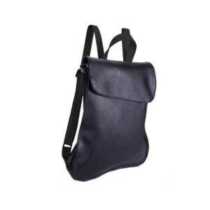 תיק גב שחור מעוצב לנשים